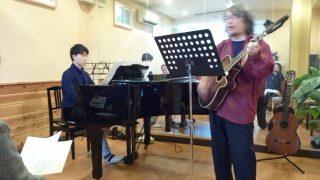 さよなら(半音下げ) ピアノとギターで歌ってみた!